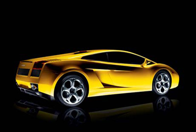 Pose de films pour vitres teintées sur une Lamborghini Gallardo
