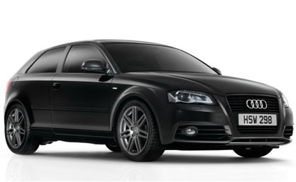 Audi A3 Black Edition en Angleterre