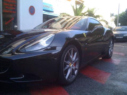 Ferrari California (avant)