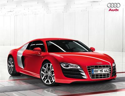 L'Audi R8 s'invite à Maranello
