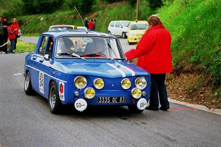 Renault Gordini R8 Originale entre Pegomas et Tanneron (2005)