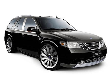 Saab Concept SUV Vitres Teintées Noires