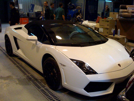 Lamborghini Gallardo en Vitres Teintées