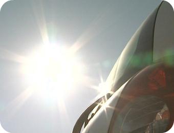 Traitement de vitrage anti chaleur et protégeant du soleil