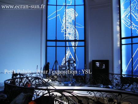 Écran Sun habille le Petit Palais à Paris de vitres teintées design et décorées