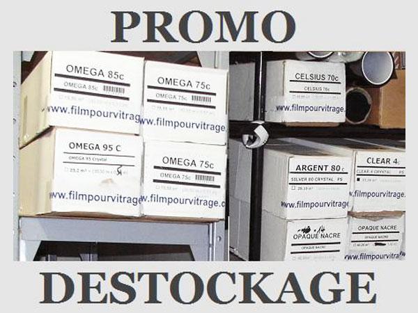 Promotion sur les rouleaux de film teinté, film de protection et sécurité et outils de pose sur FilmPourVitrage.com