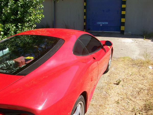 Vitre Teinté Ferrari à Mâcon