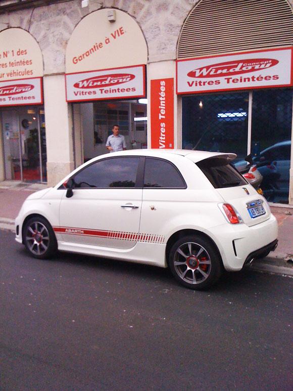 Vitre Teinté Fiat 500