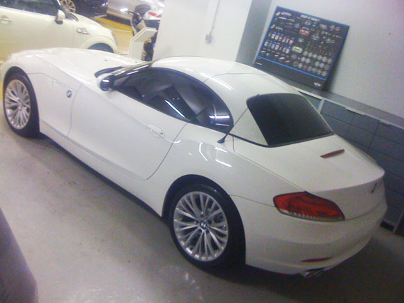 Vitre Teinté Voiture BMW Z4