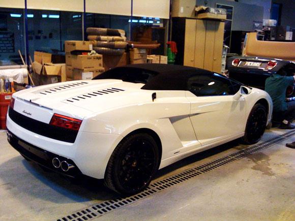 Vitre Teinté Voiture Lamborghini Gallardo