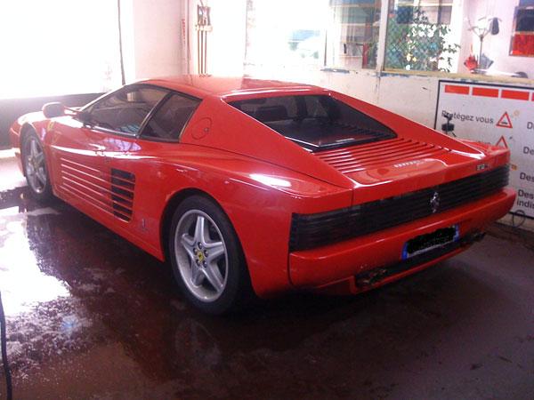 Vitre Teinté Voiture Ferrari