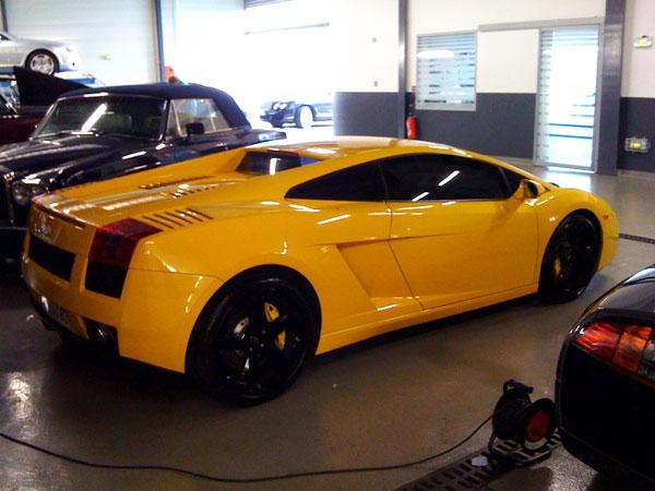 Vitre Teinté Voiture Lamborghini