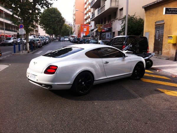 Traitement de vitrage Bentley