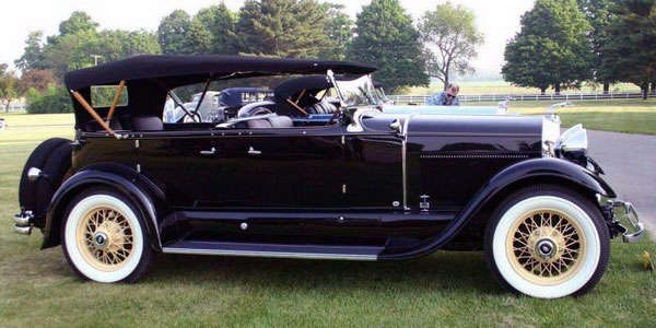 Voiture limousine Lincoln (1930)