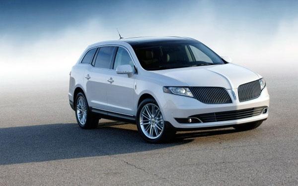 Vitres teintées d'un limousine Lincoln 2013