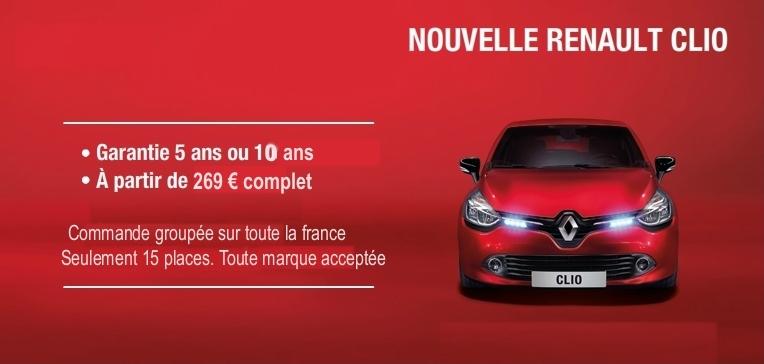 Vitres teintées nouvelle Renault Clio