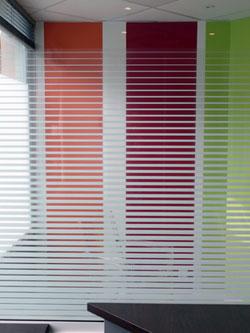 Vitres teintées fenêtre de cabinet médical à Vannes (56)