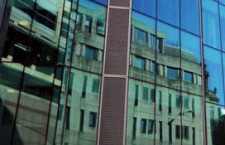 Vitre teintée bâtiment pour immeubles de bureaux