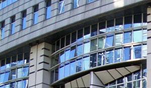 Vitres teintées bâtiment