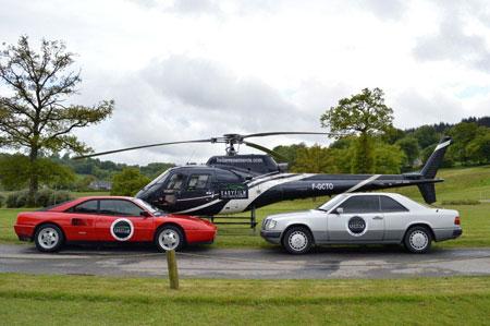 Vitres teintées de voitures et pose de film sur vitrage hélicoptère
