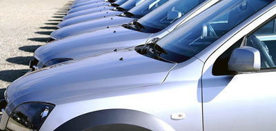 Flottes de véhicules de location