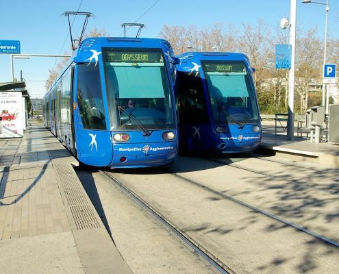 Vitres teintées pour tramways